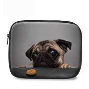 Donna Uomo Lovely Cartoon Dog Cat Creative Computer Protective Borsa