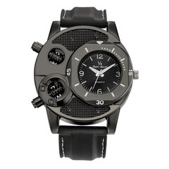 Mens Watches Outdoor Sport Wristwatches Silicone Band Watch Quartz Clock Military Watches