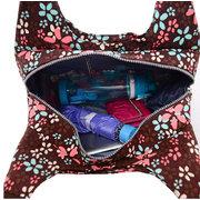 Women Nylon Multicolor Handbag Shopping Bag Shoulder Bag