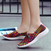 Colorful Scarpe casual traspiranti elasticizzate per donne