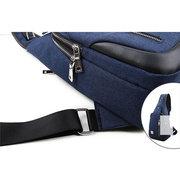 Herren Multi-Pocket Nylon Causal Sports Outdoor Umhängetasche Brust Taschen