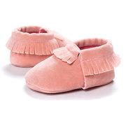 Soft First Walkers Baby Shoes Nappe Mocassini per ragazze Ragazzi per 0-24M