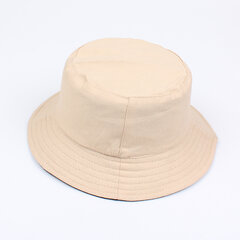 Female Pure Summer Fisherman's Sunshade Bucket Hat Cotton Material Breathable And Easy To Wash Hats.