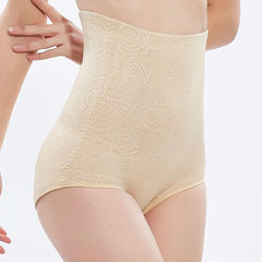 High Waisted Tummy Control Jacquard Shapewear Panties