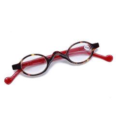 Marco plástico para hombre para mujer Marco redondo pequeño marco de lectura de la vendimia Gafas de sol simples