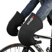 Mens Unisex Winter Cycling Handlebar End Mittens Outdoor Waterproof Thick Warm Bicycle Gloves