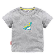 Cartoon Printed Toddler Boys Short Sleeve Tops & T-shirts Kids Summer Clothes For 1Y-13Y