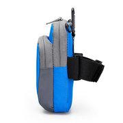 Nylon Running Arm Bag Waterproof Multi-functional Outdoor Waist Bag Crossbody Bag For Men Women