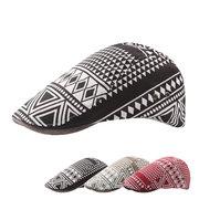 Women And Men Vintage Fashion Cotton Visor Beret Hats Breathable Adjustable Forward Cap