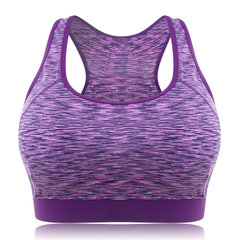Plus Size Shock Absorber Wireless Running Sports Bra