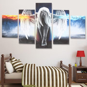 Unframed 5PCS Angel Modern Art Painting Canvas Print Wall Picture Home Decor
