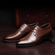 الرجال الكلاسيكية كاب تو الرباط حتى أشار تو اللباس الرسمي اللباس أحذية