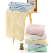 110*110cm Pure Cotton Women Baby Bath Towels Absorbent Water Office Car Blanket Home Bed Sheets