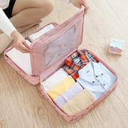 Casual Nylon Waterproof Large Capacity Clothes Cosmetic Travel Storage Bags Luggage