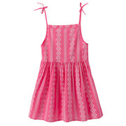 Leisure Style Toddler Girls Kids Sleeveless Strap Beach Casual Dress For 2Y-11Y