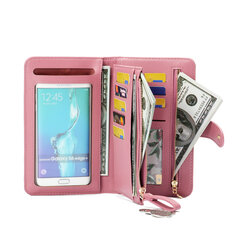Women 4.7/5.5 Inch Touch-Screen Phone Bag For Iphone 8 Plus  8 Card Slots Wallet