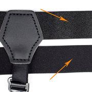 Men  Two Clips Sock Holder Stays Casual Adjustable Suspenders Long Tube Socks Braces