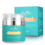 MABOX Moisturizing Face Cream Eye Area Anti Aging Wrinkles Hyaluronic Acid Vitamin 50ml