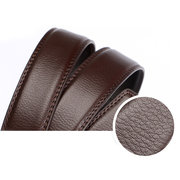 Men Automatic Buckle Genuine Leather Belt High Quality Adjustable Casual Business Wild Waistband