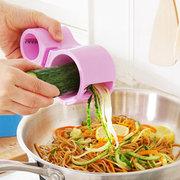 Kitchen Multi-function Vegetable Cutter Spiral Double-head Grater Cucumber Cutter