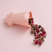Cat Claw Cup الكمبيوتر Plastic Cup with Cat Claw Shape سيليكون Tea Filter