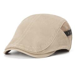 Herren Vogue Baumwolle Baskenmütze Sonnenschirm Lässig Outdoor Schirmmütze Einstellbar Hut