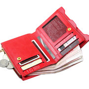 Women Elegant Wallet Zipper Composite Leather Small Wallet Coin Bag Card Holders Bags