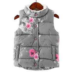 Cappotto gilet in lana da bambini
