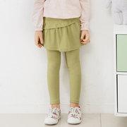 Soft Baumwolle Mädchen Rock Hosen Kinder bequeme Leggings für 3J-15Y