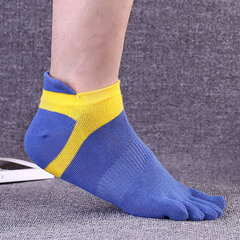 Five Toes Socks Anti-bacterial Deodorant Thick Cotton Sports Comfortable Casual Socks For Men