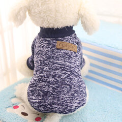 Fashion Casual Pet Dog Cat Sweater Clothes Keep Warmth For Small Medium Dogs XS-XXL