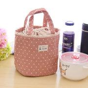 Coton portatif déjeuner sac de point de retenue de la chaleur de stockage sac de sac de déjeuner portable