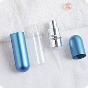 Atomiseur de Parfum Réutilisable Portable Flacon Pulvérisateur Multicolor Distributeur de Parfum Bouteille Vaporisateur 5ML pour Voyage
