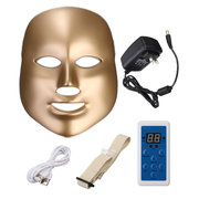 7 cores LED Photon Pele Rejuvenescimento Facial Máscara do pescoço Beauty Therapy Machine Firming Tightening