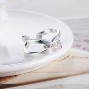 يويين للتعديل خاتم القوس عقدة الزركون الدائري