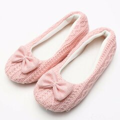 Cute Butterfly Knot Slip On Interno Home Shoes