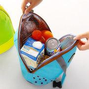 ثخن الحفاظ على الثلج الطازج حقيبة الغداء حمل حقيبة الحرارية الغذائية أكياس نزهة حقائب السفر
