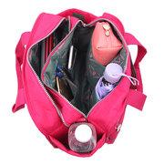 Сумка для двойного использования с несколькими отделениями для женщин с нейлоновой сумкой
