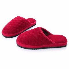 Unisex Simple Pure Color Slip On Indoor Flat Home Shoes