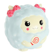 PU Slow Simulation Sheep Model 12cm Slow Rising With Packaging Collection Gift Soft Toy
