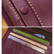 Women Genuine Leather Card Holder Wallet High-end Purse