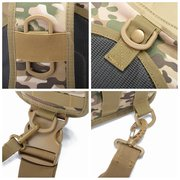 Canvas Camouflage Outdoor Travel Sling Bag Large Capacity Tactical Chest bag Crossbody Bag