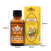 30ml Ginger Massage Oil 100% Natural Plant Body Spa Moisturizing Nourishing Essence Oil Body Care