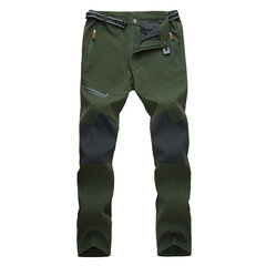 Mens Outdoor Thin Pants Water-repellent Quick-Dry Breathable Hiking Running Casual Trousers