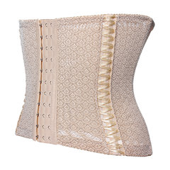 Sexy Breathable Waist Abdomen Shaping Corsets Steel Bone Bustiers For Women