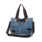 Stampa su grande volume Canvas Shoulder Borsa