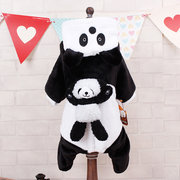 Dog Cat Pet Puppy Panda Costume With Sound Halloween Clothes Accessory Fancy Funny