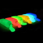 Fluorescente Body Paint Pigment Luminous Flash Make Up Halloween Party In The Dark