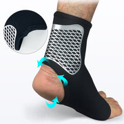 Men Breathable Elastic Protective Ankle Sports Cycling Running Football Basketball Protective Gear