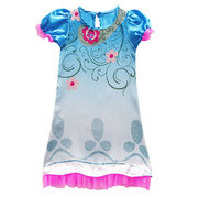 Girls Cosplay Costume Dresses Trolls Kids Halloween Party Clothes For 4Y-13Y